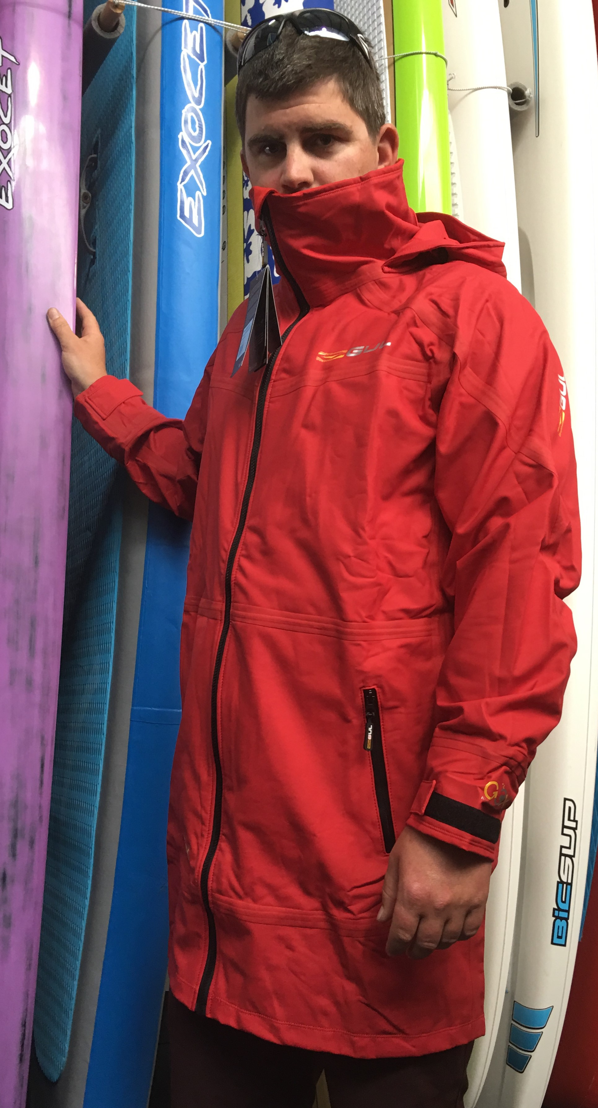 GM0386: GUL Racelite Rigging Jacket - gm0386 red  2 _2_.jpg