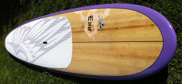 Exocet 10 3 bambo purple bow