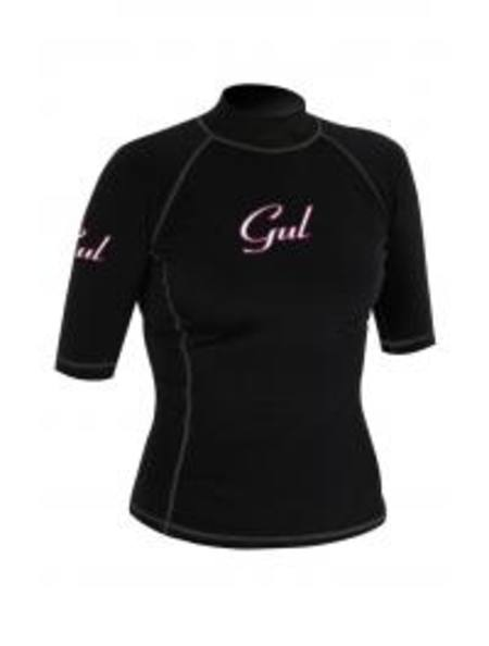 GUL Evotherm Womens Flatlock Short Sleeve Rash Guard