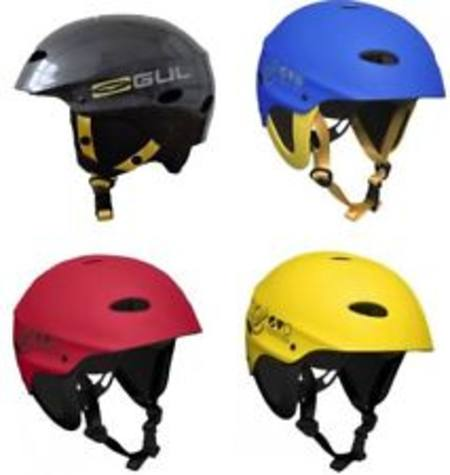 Gul EVO Protection Helmet -  Ear Protection - Yellow/Red or Blue