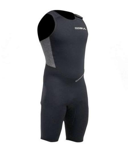 Buy Response 3/2mm Flatlock Short John Wetsuit in NZ.