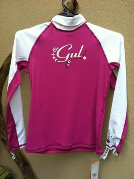 GUL Junior Girls L/S  Lycra Rashguard UPF50
