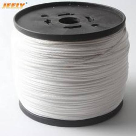 1mm 6 Braid Polyester White