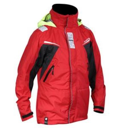 Rooster Pro Coastal Jacket  -  Two Colours - Red & Black