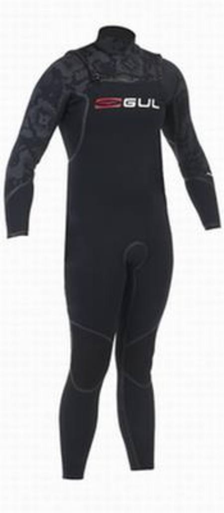 GUL Viper Mens 3/2mm Blindstitch Steamer - The Ultimate Chest-Zip Suit