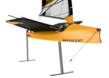 "Buy WASZP - ""ONE DESIGN"" FOILING WASZP in NZ."