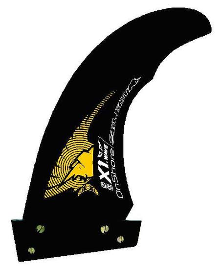 Select X1 Version 4 Universal Wave Fin.For Thruster or Quad