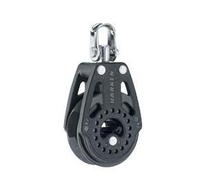 HA2608 - Harken #2608 40mm Carbo Ratchet Block & Swivel. L