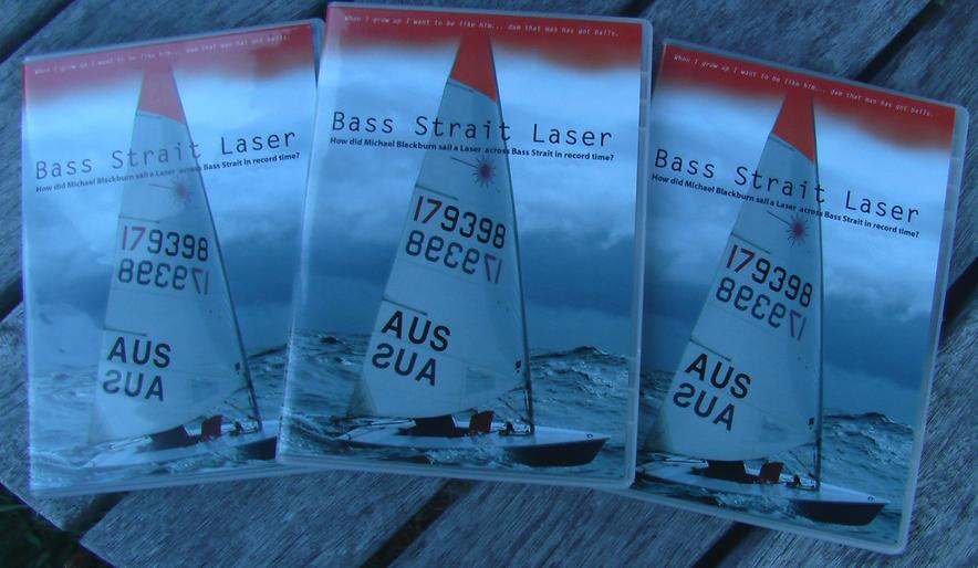 DVD BASS STRAIGHT LASER - Michael Blackburn's record breaking sail across th