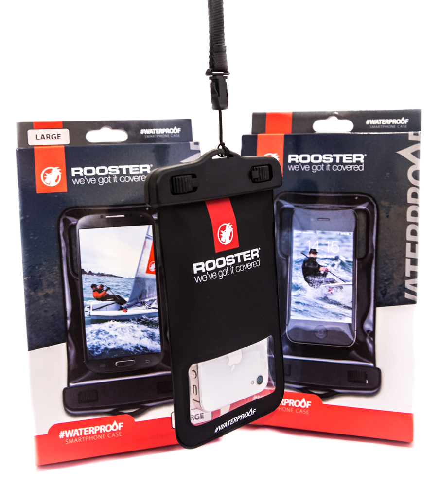 RWC1 - Rooster Waterproof Case for Small Smartphones - iP